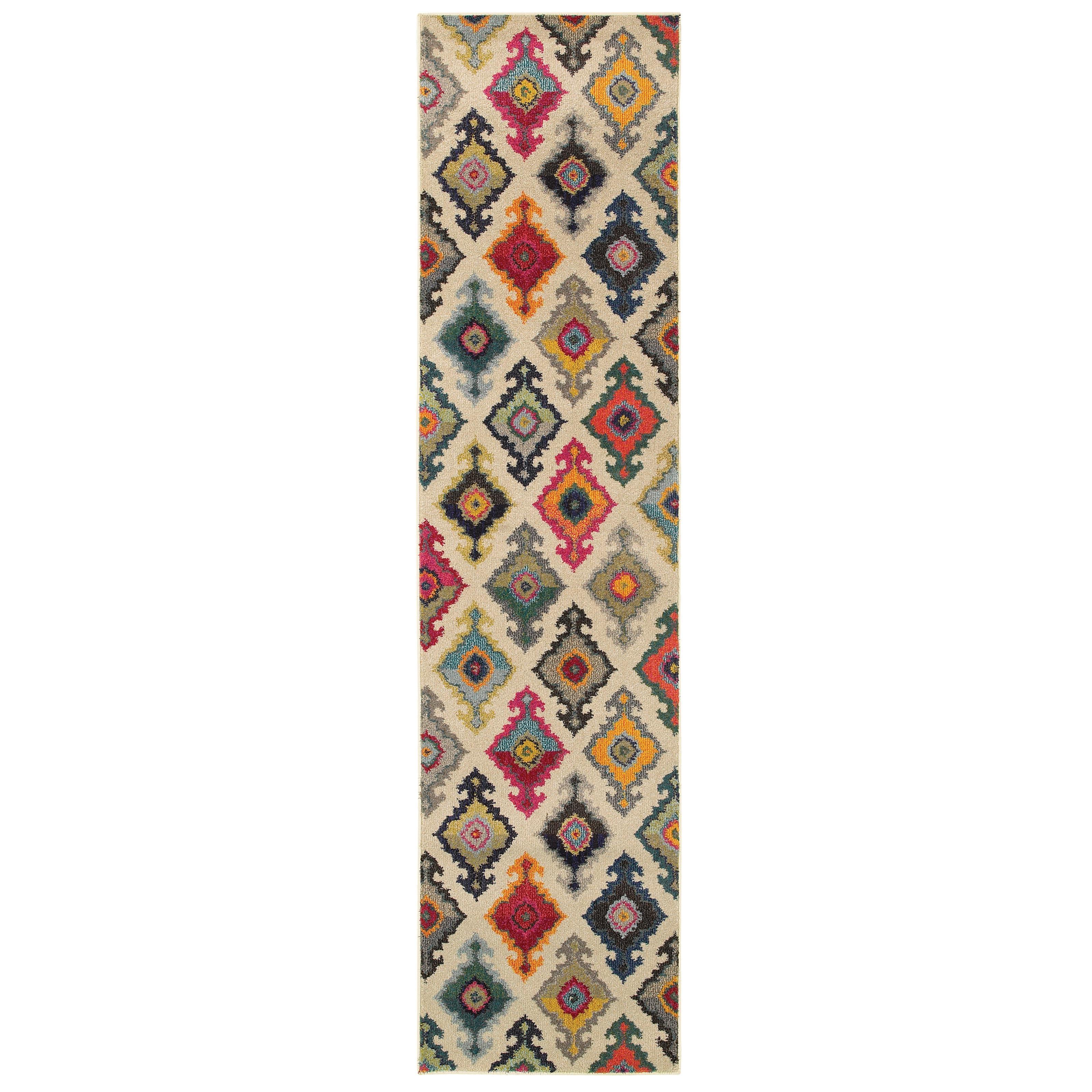 """Oriental Weavers Kaleidoscope 2' 7"""" X 10' 0"""" Rug - Item Number: K5990Y078305ST"""