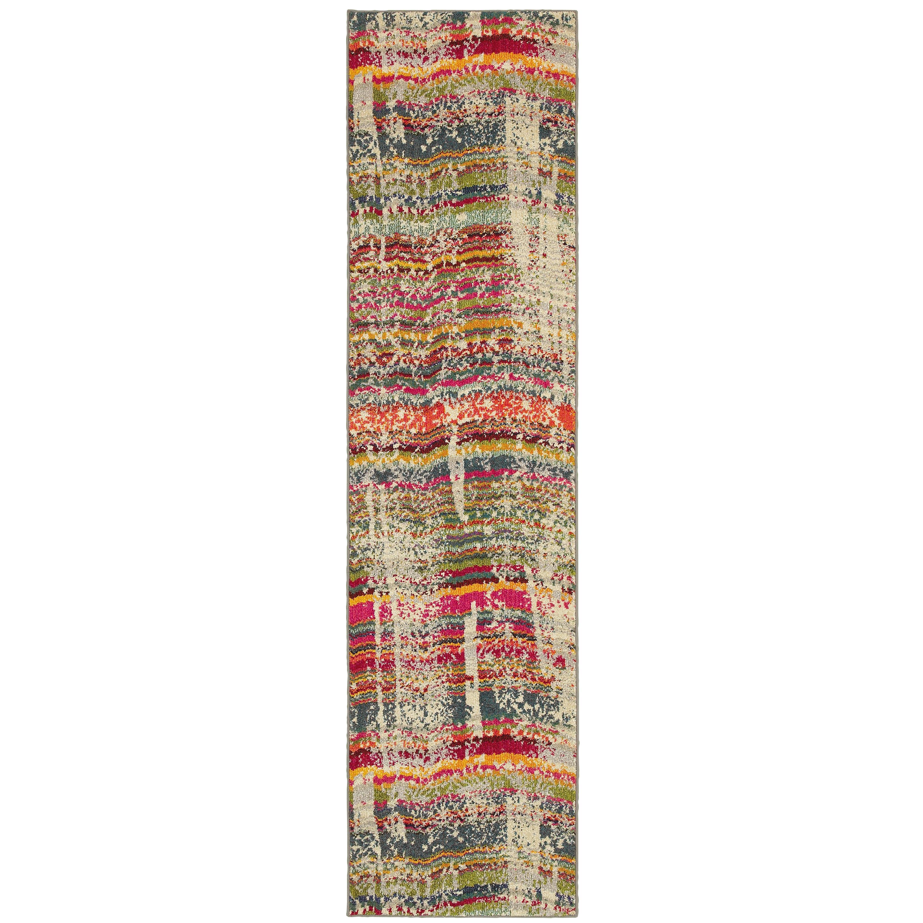 "Oriental Weavers Kaleidoscope 2' 7"" X 10' 0"" Rug - Item Number: K5992F078305ST"