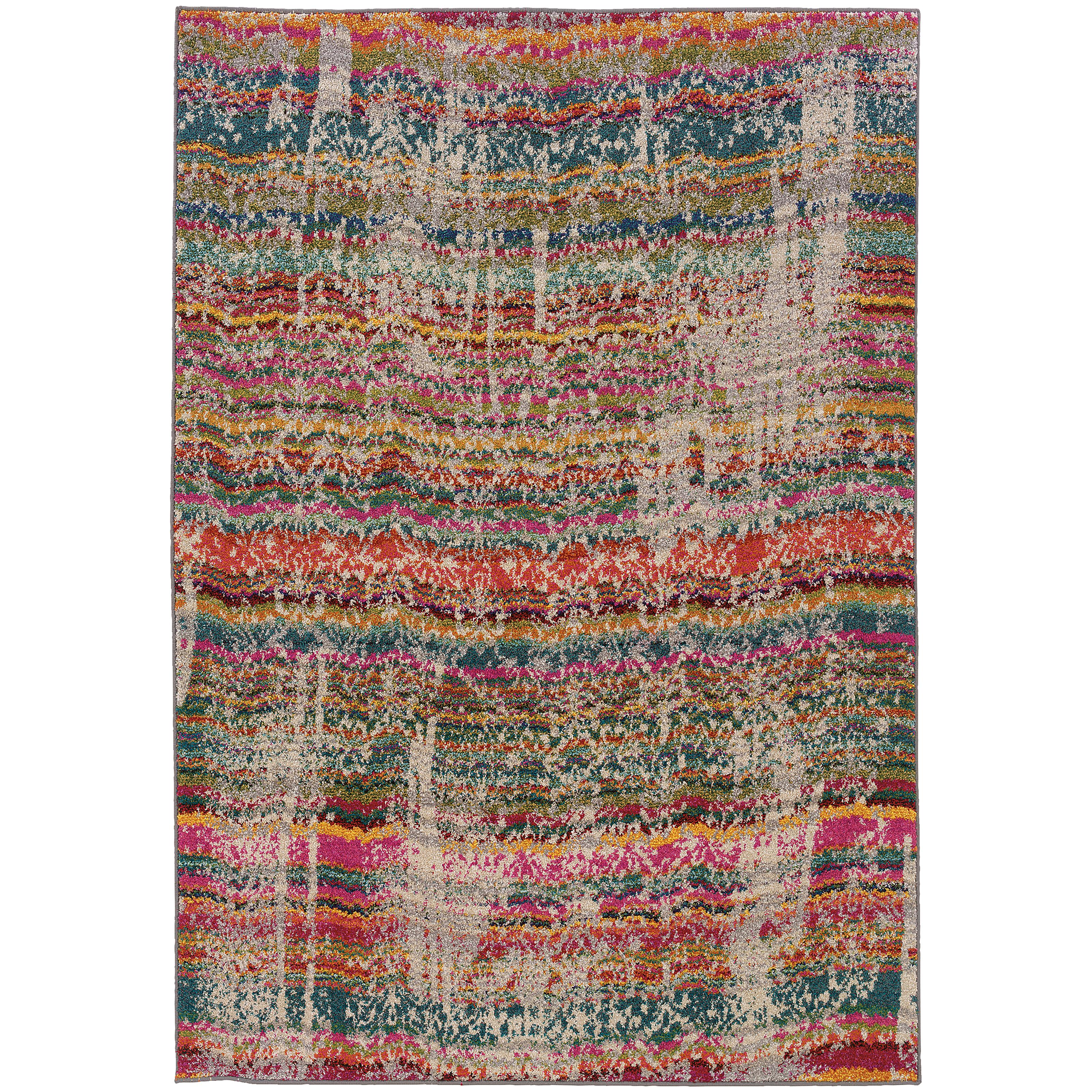 "Oriental Weavers Kaleidoscope 5' 3"" X  7' 6"" Rug - Item Number: K5992F160235ST"