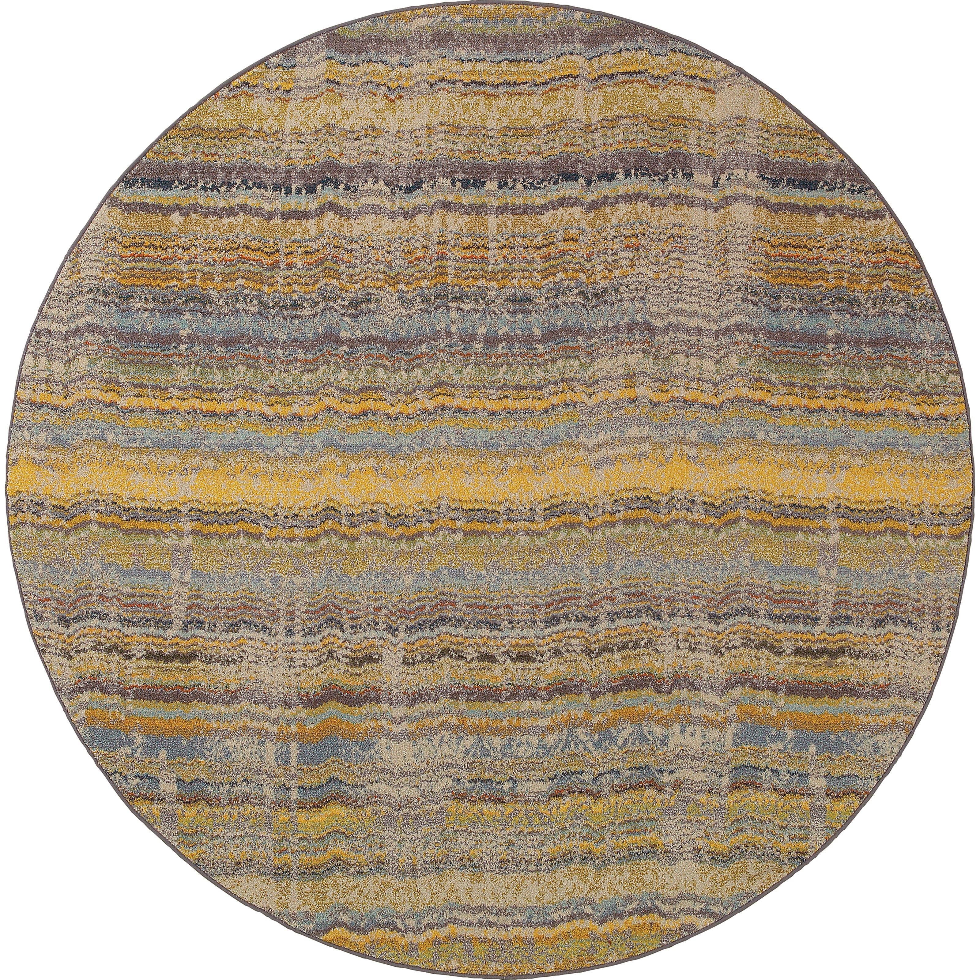 """Oriental Weavers Kaleidoscope 7' 8"""" X  7' 8"""" Rug - Item Number: K5992Y240RDST"""