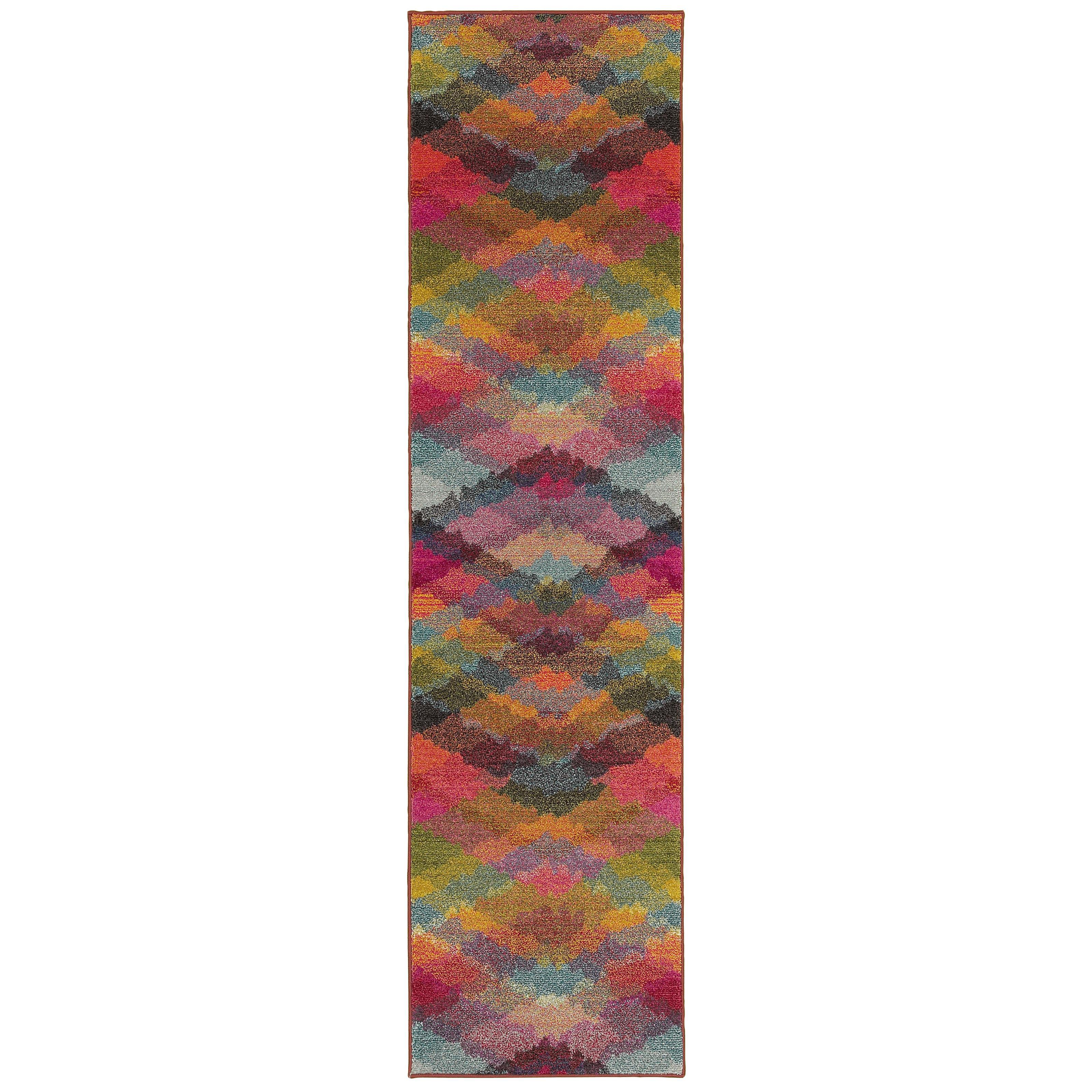 "Oriental Weavers Kaleidoscope 2' 7"" X 10' 0"" Rug - Item Number: K631X5078305ST"
