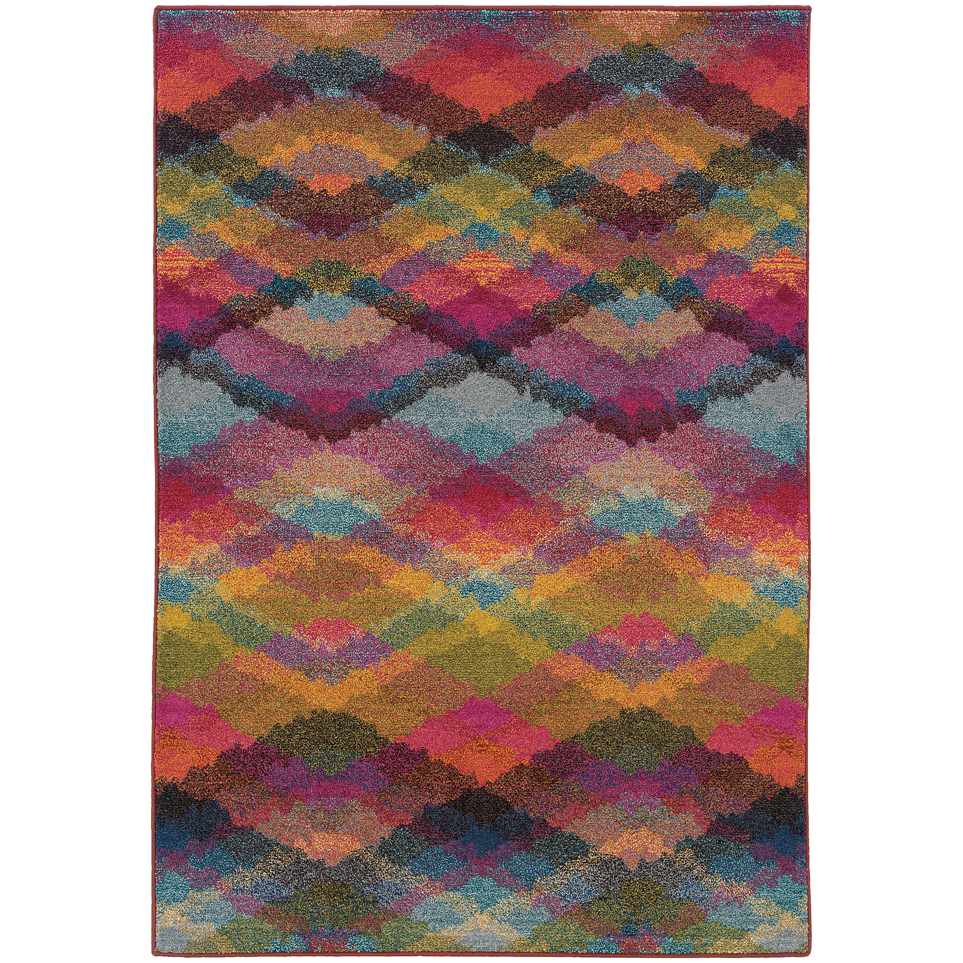 "Oriental Weavers Kaleidoscope 4' 0"" X  5' 9"" Rug - Item Number: K631X5120180ST"
