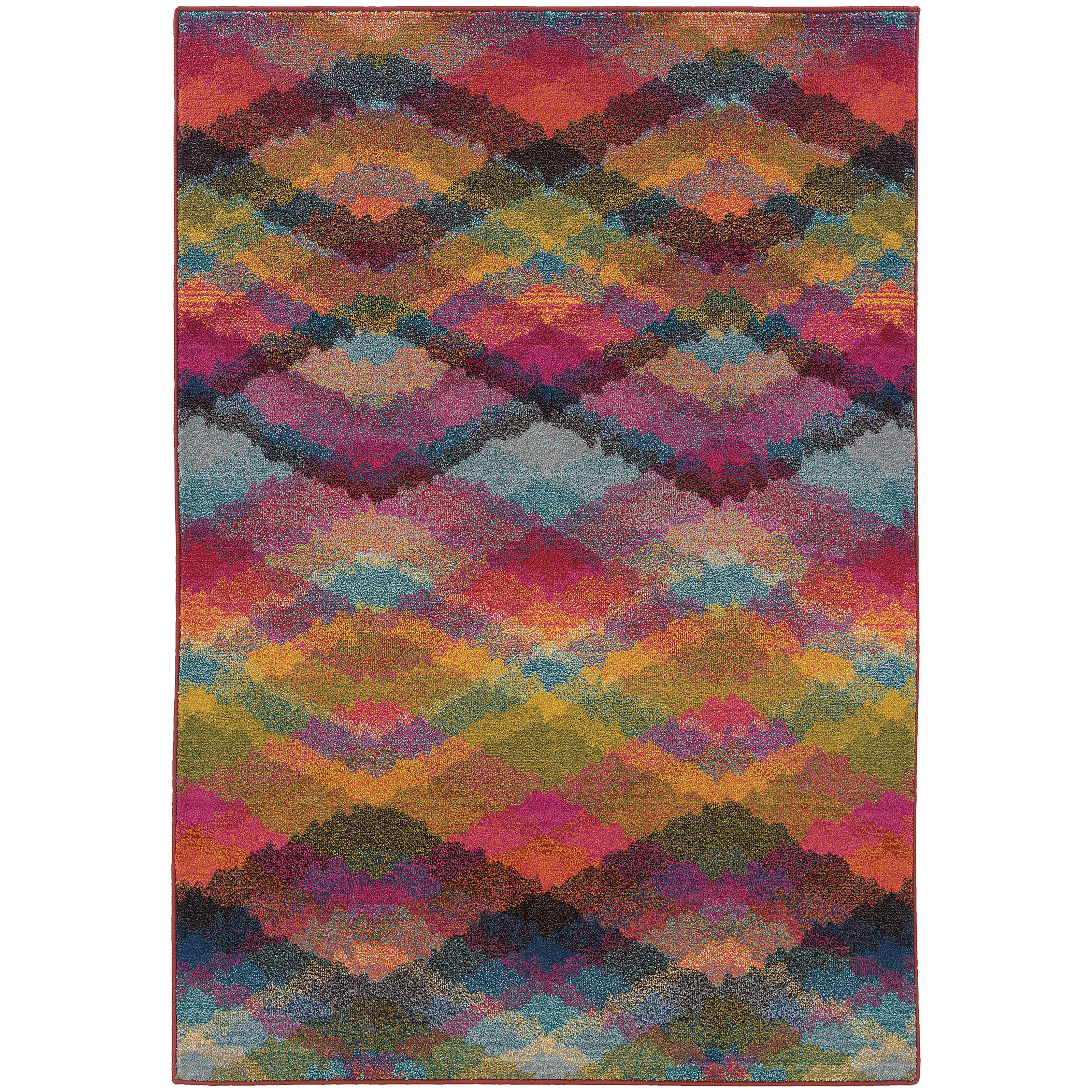 "Oriental Weavers Kaleidoscope 7'10"" X 10'10"" Rug - Item Number: K631X5240340ST"