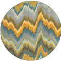 """Oriental Weavers Kaleidoscope 7' 8"""" X  7' 8"""" Rug - Item Number: K8020G240RDST"""