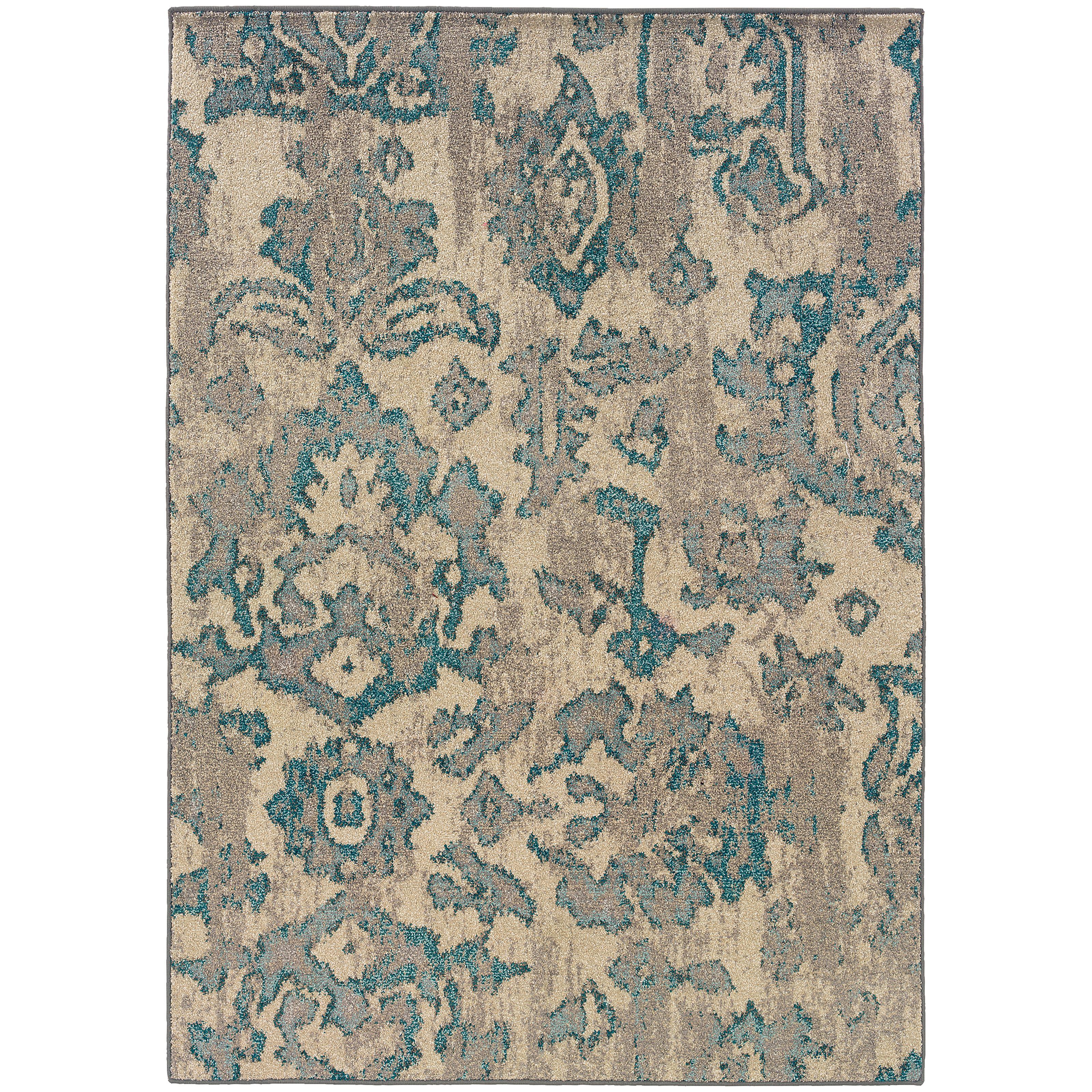 """Oriental Weavers Kaleidoscope 4' 0"""" X  5' 9"""" Rug - Item Number: K8023Y120180ST"""
