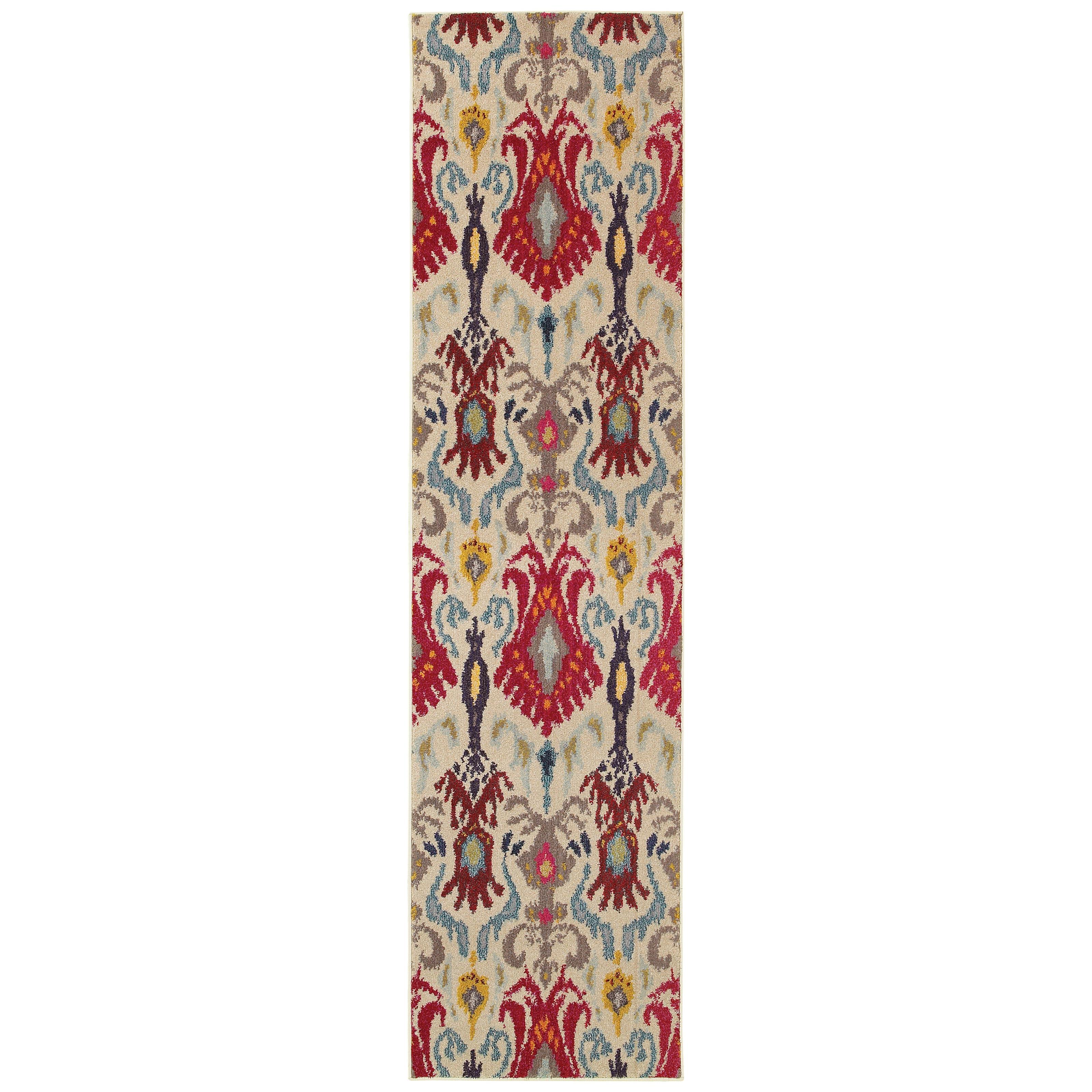 "Oriental Weavers Kaleidoscope 2' 7"" X 10' 0"" Rug - Item Number: K802I5078305ST"