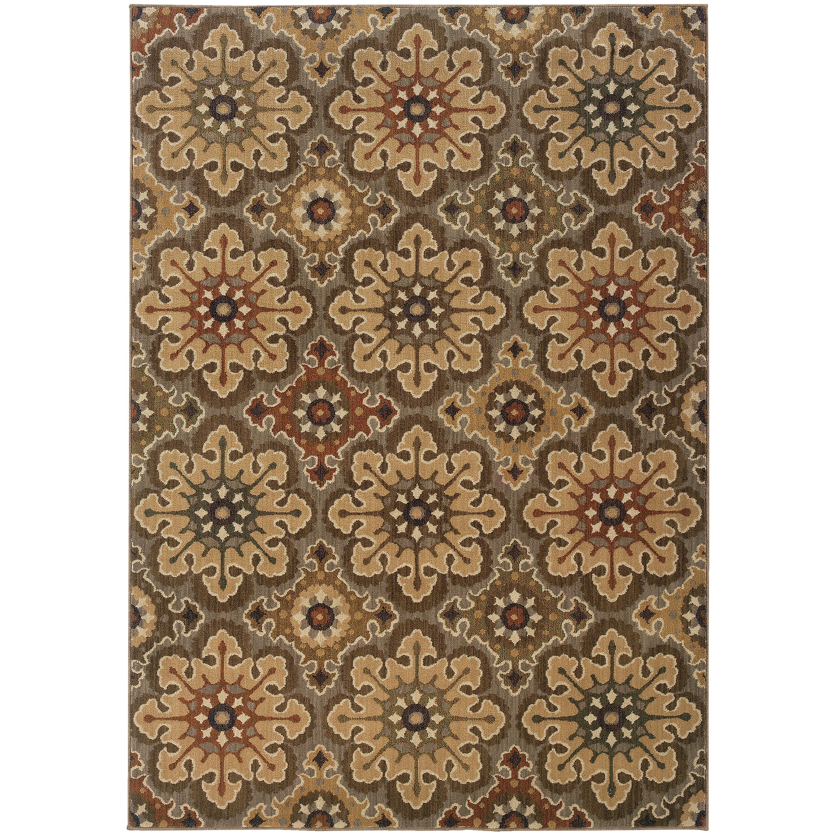 """Oriental Weavers Kasbah 3'10"""" X  5' 5"""" Rug - Item Number: K3808C117165ST"""