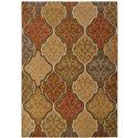 """Oriental Weavers Kasbah 9'10"""" X 12'10"""" Rug - Item Number: K3832C300390ST"""