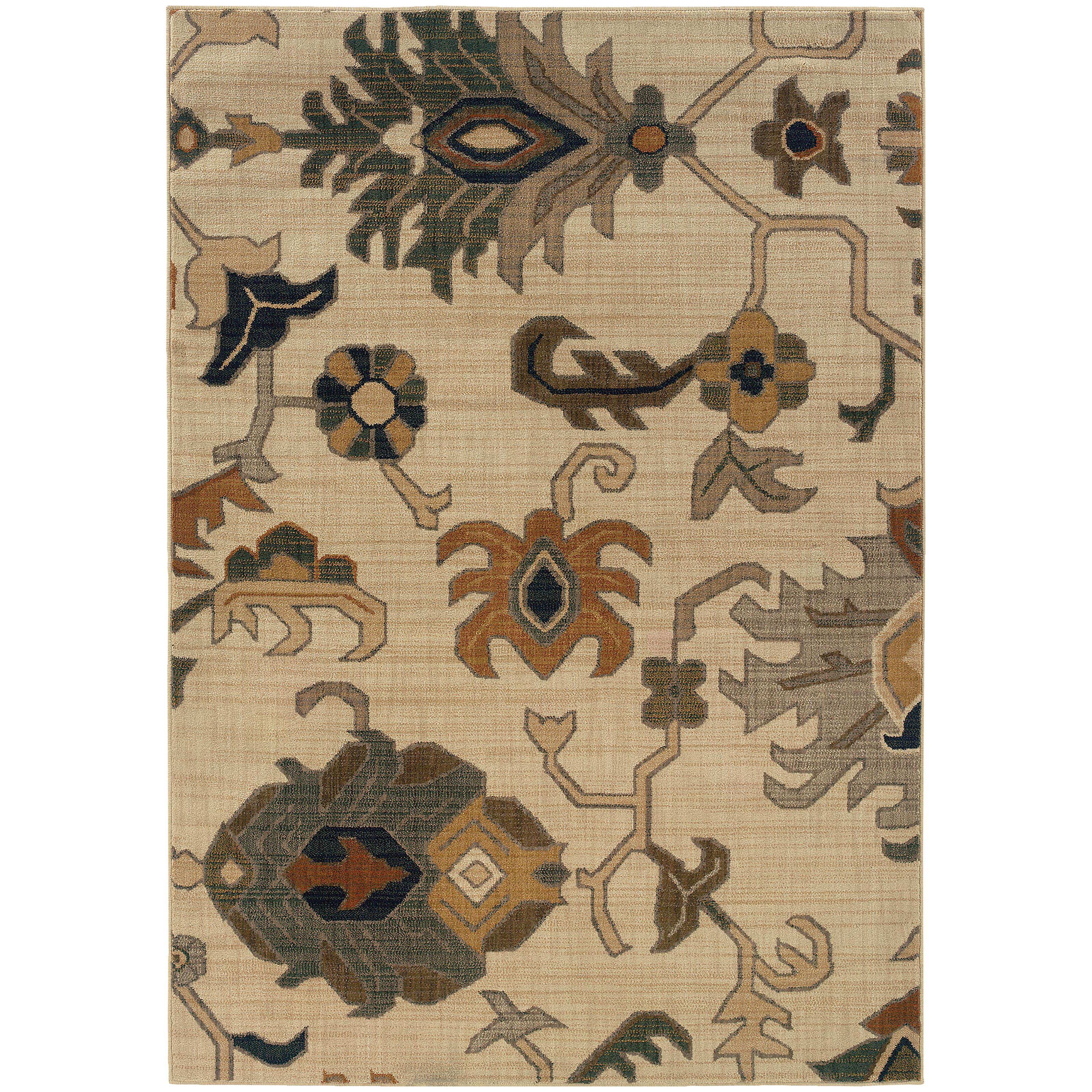 """Oriental Weavers Kasbah 6' 7"""" X  9' 6"""" Rug - Item Number: K3936F200290ST"""