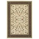 """Oriental Weavers Kashan 3'10"""" X  5' 5"""" Rectangle Rug - Item Number: KAS108X310X55"""