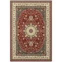 """Oriental Weavers Kashan 3'10"""" X  5' 5"""" Rectangle Rug - Item Number: KAS119N310X55"""