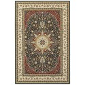 """Oriental Weavers Kashan 5' 3"""" X  7' 6"""" Rectangle Rug - Item Number: KAS119U53X76"""