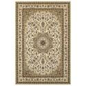 """Oriental Weavers Kashan 3'10"""" X  5' 5"""" Rectangle Rug - Item Number: KAS119W310X55"""