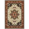 """Oriental Weavers Kashan 6' 7"""" X  9' 6"""" Rectangle Rug - Item Number: KAS96W67X96"""