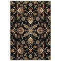 """Oriental Weavers Kashan 3'10"""" X  5' 5"""" Rectangle Rug - Item Number: KAS9946K310X55"""