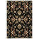 "Oriental Weavers Kashan 6' 7"" X  9' 6"" Rectangle Rug - Item Number: KAS9946K67X96"