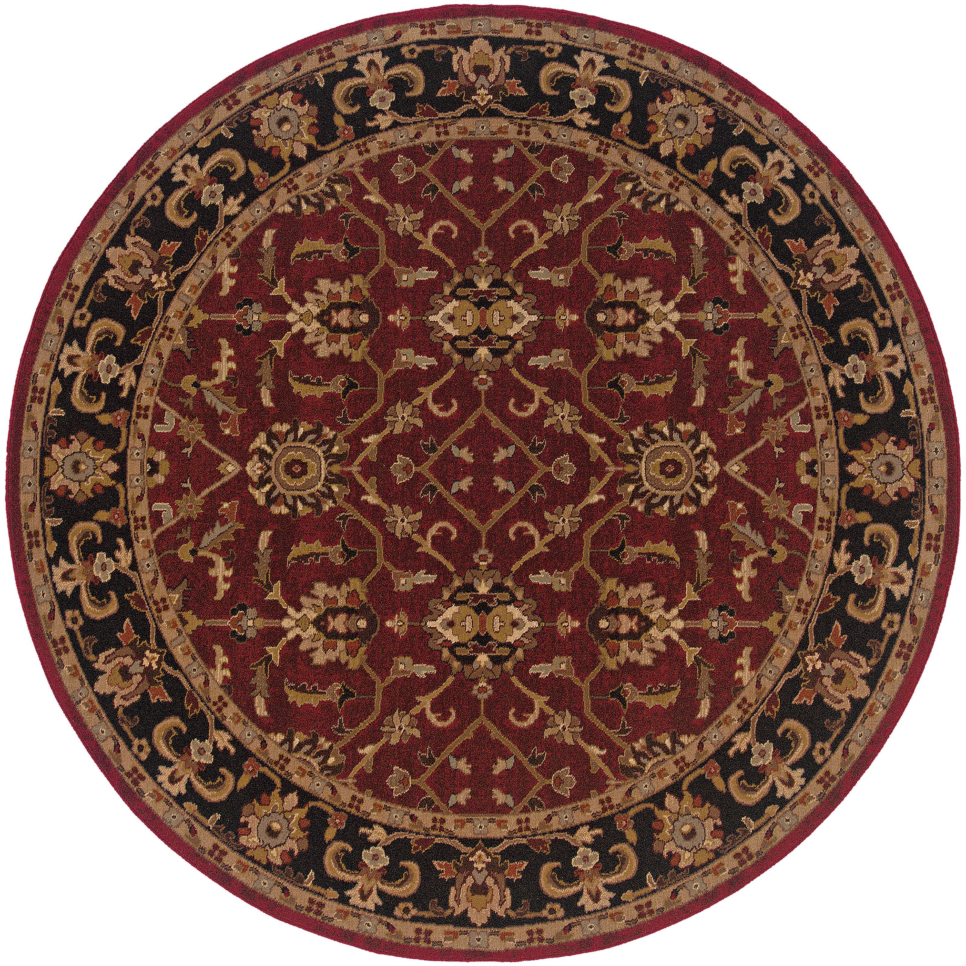 """Oriental Weavers Knightsbridge 7'10"""" X  7'10"""" Rug - Item Number: K282R5240RDST"""