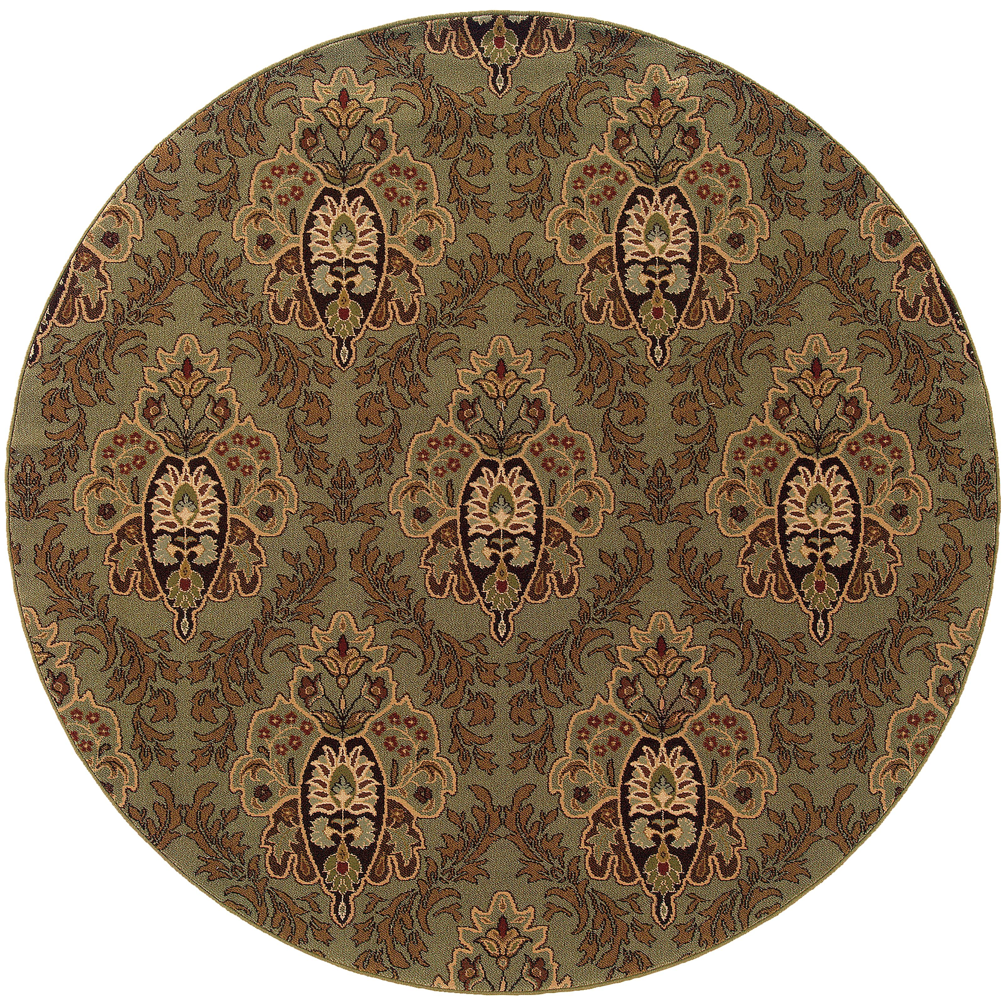 """Oriental Weavers Knightsbridge 7'10"""" X  7'10"""" Rug - Item Number: K562F5240RDST"""