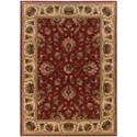 "Oriental Weavers Knightsbridge 9'10"" X 12'10"" Traditional Red/ Beige Rectan - Item Number: KNI211V910X1210"