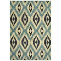 "Oriental Weavers Linden 7'10"" X 10'10"" Rectangle Rug - Item Number: LIN7825C710X1010"
