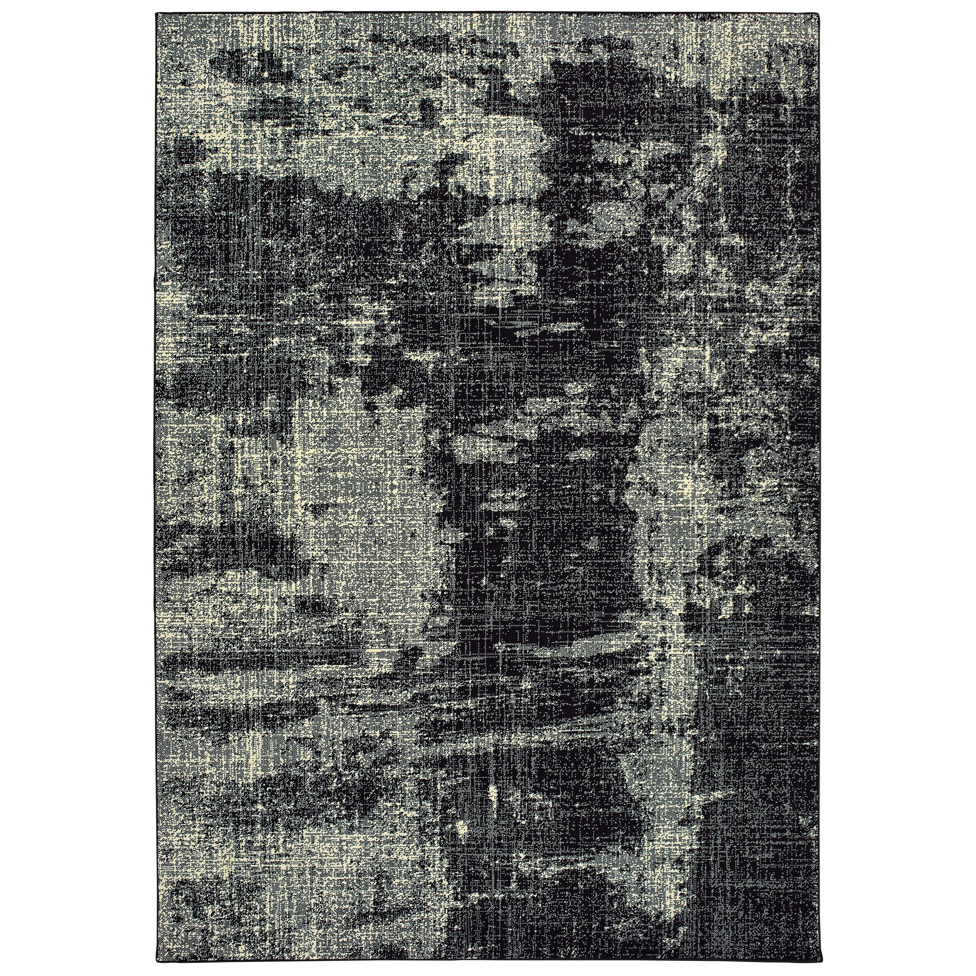 "Oriental Weavers Luna 5' 3"" X  7' 6"" Rectangle Rug - Item Number: LUN1805K53X76"