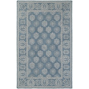 "Oriental Weavers Manor 8' 0"" X 10' 0"" Casual Blue/ Grey Rectangle R"