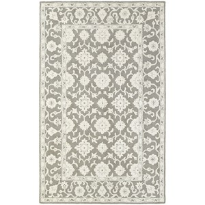 "Oriental Weavers Manor 3' 6"" X  5' 6"" Casual Grey/ Stone Rectangle"