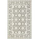 "Oriental Weavers Manor 3' 6"" X  5' 6"" Casual Grey/ Stone Rectangle  - Item Number: MAN8120436X56"