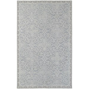 "Oriental Weavers Manor 5' 0"" X  8' 0"" Casual Grey/ Blue Rectangle R"