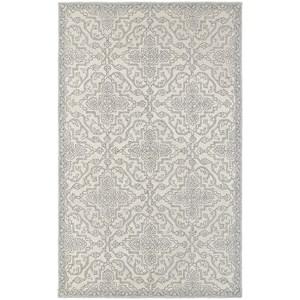 "Oriental Weavers Manor 5' 0"" X  8' 0"" Casual Stone/ Grey Rectangle"