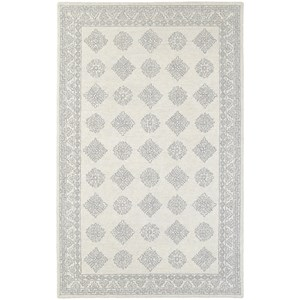 "Oriental Weavers Manor 3' 6"" X  5' 6"" Casual Grey/ Beige Rectangle"