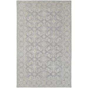 "Oriental Weavers Manor 5' 0"" X  8' 0"" Casual Grey/ Stone Rectangle"