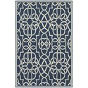 "Oriental Weavers Meridian 1'10"" X  2'10"" Rectangle Area Rug - Item Number: MER2205B110X210"