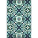 "Oriental Weavers Meridian 1'10"" X  2'10"" Rectangle Area Rug - Item Number: MER2206B110X210"