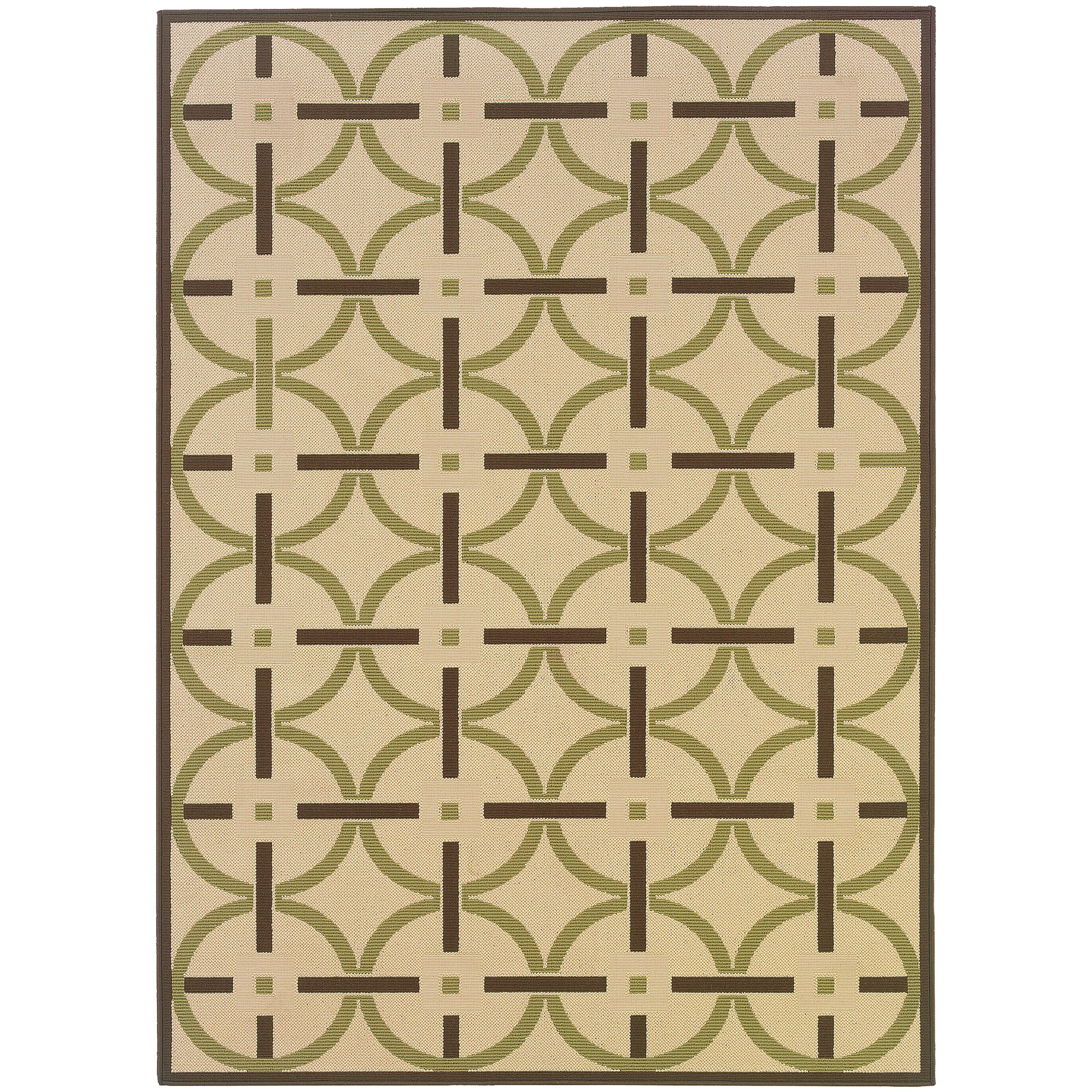 "Oriental Weavers Montego 3' 7"" X  5' 6"" Rug - Item Number: M895J6110170ST"