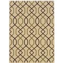 "Oriental Weavers Montego 1' 9"" X  3' 9"" Rug - Item Number: M896J6055115ST"