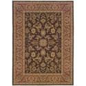 "Oriental Weavers Nadira 9'10"" X 12' 5"" Traditional Brown/ Rust Recta - Item Number: NAD42A910X125"