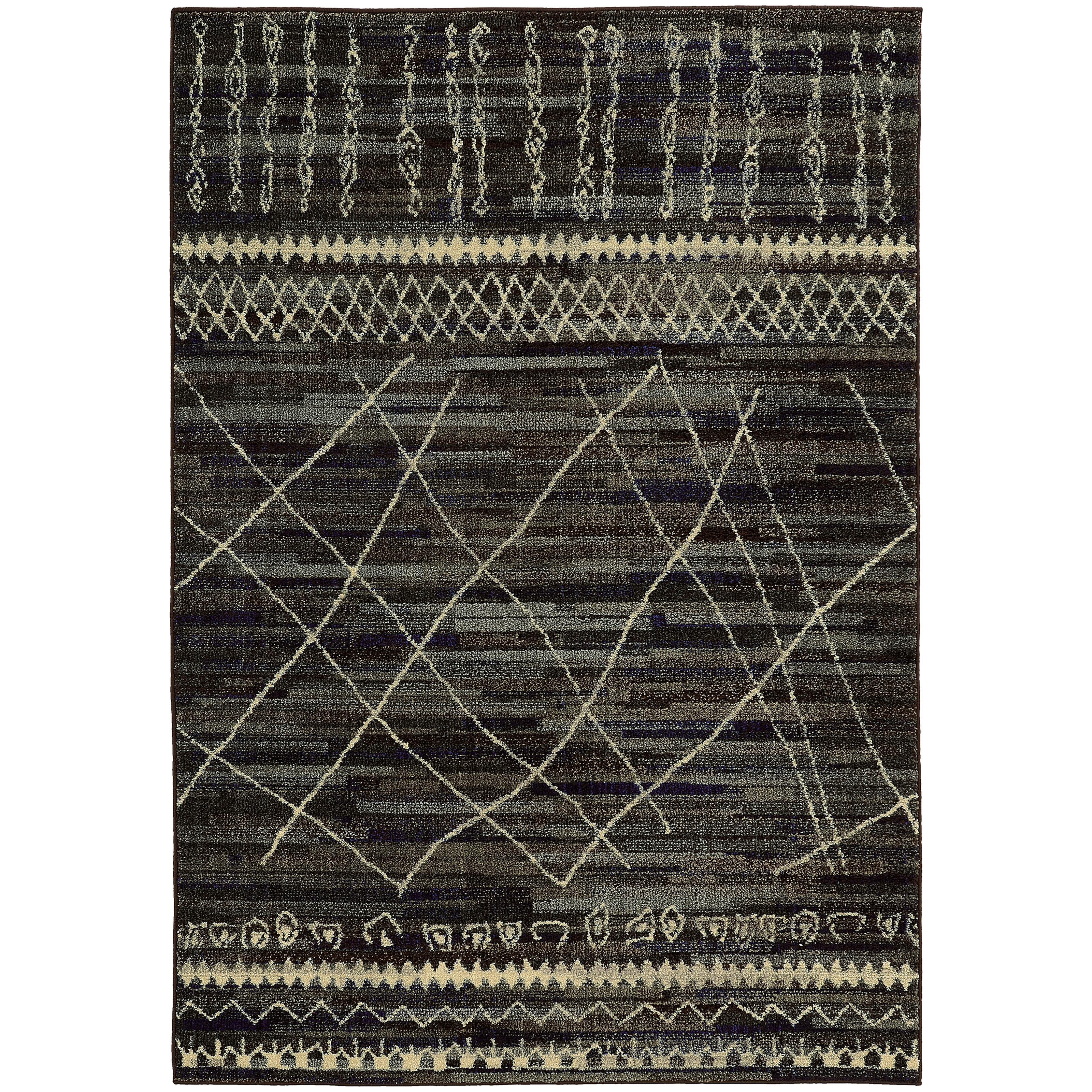"""Oriental Weavers Nomad 7'10"""" X 10'10"""" Rug - Item Number: N633N5240340ST"""