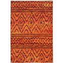 """Oriental Weavers Nomad 6' 7"""" X  9' 1"""" Rug - Item Number: N8122O200285ST"""