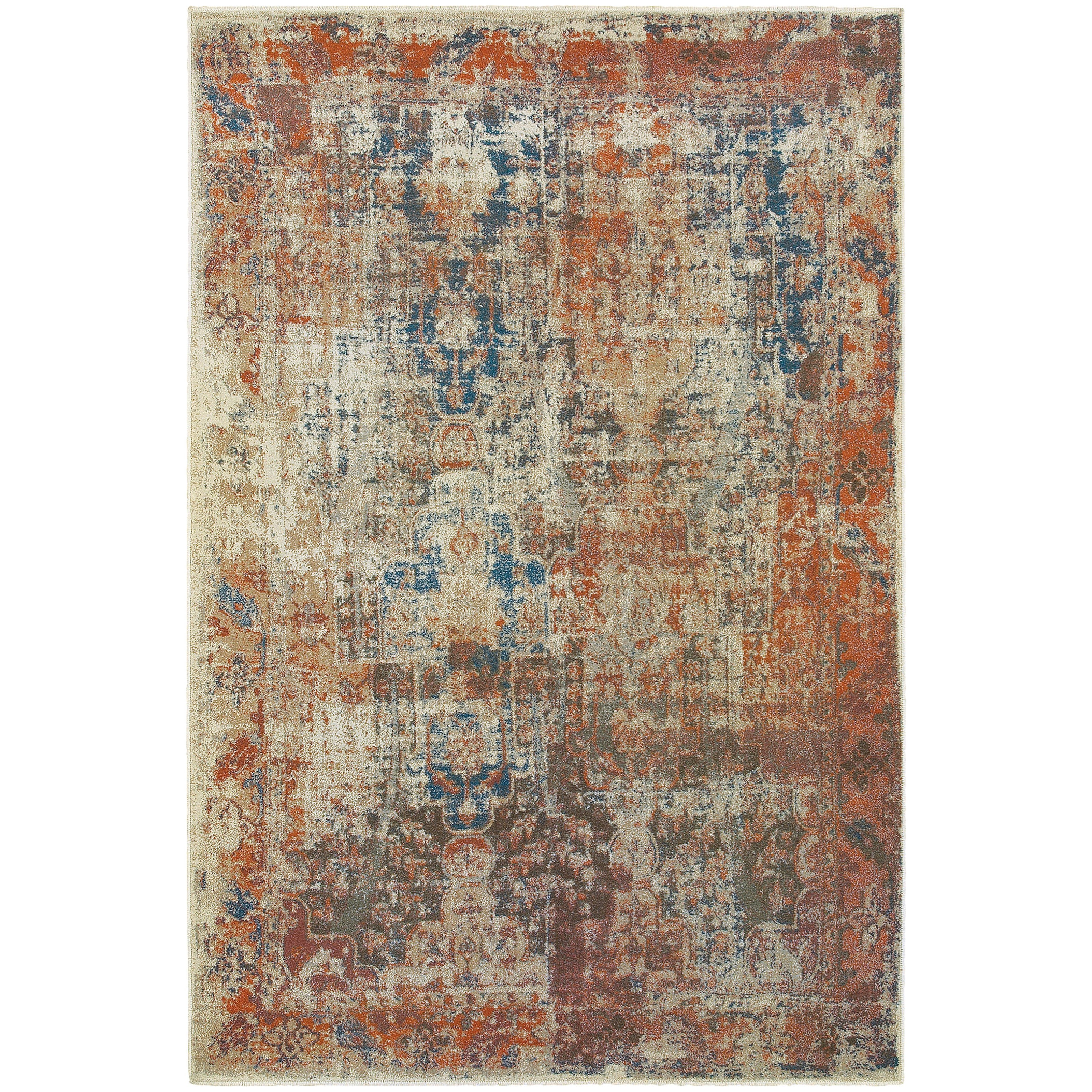 "Pasha 5' 3"" X  7' 6"" Rectangle Area Rug by Oriental Weavers at Red Knot"