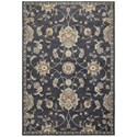 "Oriental Weavers Pasha1 9'10"" X 12'10"" Casual Blue/ Ivory Rectangle  - Item Number: PAS4927B910X1210"
