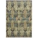 """Oriental Weavers Raleigh 2' 3"""" X  7' 6"""" Runner Rug - Item Number: RAL2333Y23X76"""