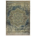 "Oriental Weavers Raleigh 3'10"" X  5' 5"" Rectangle Rug - Item Number: RAL6649H310X55"