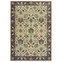"""Oriental Weavers Raleigh 5' 3"""" X  7' 6"""" Rectangle Rug - Item Number: RAL8026E53X76"""