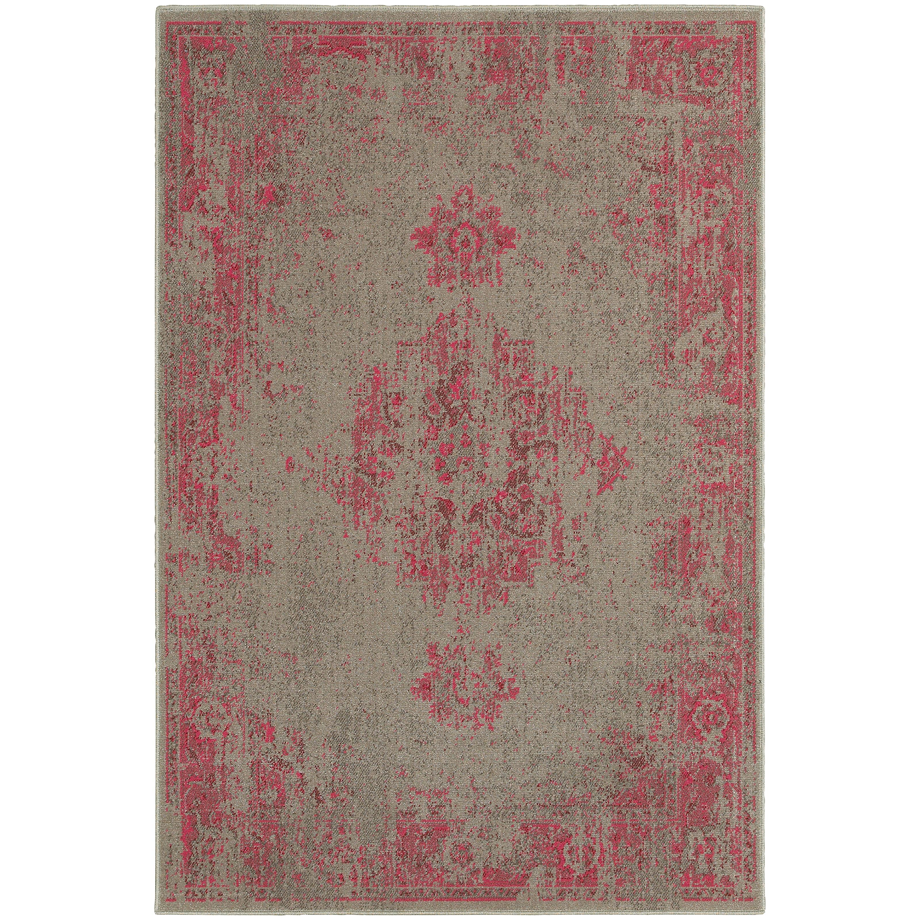 """Oriental Weavers Revival 3'10"""" X  5' 5"""" Rug - Item Number: R6330F117165ST"""