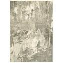 "Oriental Weavers Rowan 6' 7"" X  9' 6"" Contemporary Ivory/ Grey Rect - Item Number: ROW2067W67X96"