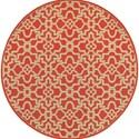 """Oriental Weavers Seaside 7'10"""" X  7'10"""" Round Rug - Item Number: SEA3361R710ROUND"""