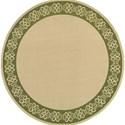 "Oriental Weavers Seaside 7'10"" X  7'10"" Round Rug - Item Number: SEA7127F710ROUND"