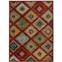 "Oriental Weavers Sedona 1'10"" X  3' 0"" Rug - Item Number: S5936D056091ST"