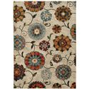"Oriental Weavers Sedona 9'10"" X 12'10"" Rug - Item Number: S6361A300390ST"